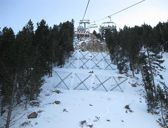 Alta montaña <br/> y nieve