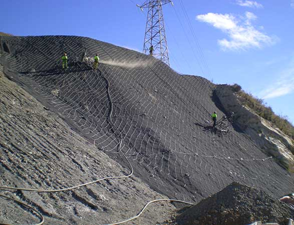 Treatment, Stabilization</br> And Slope Protection