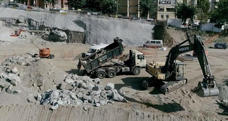 EJECUCIÓN DE SOIL NAILING EN EXCAVACIÓN PARA CONSTRUCCIÓN